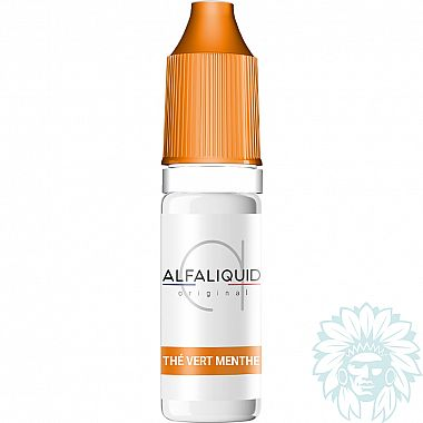 E-liquide Alfaliquid Thé Vert Menthe
