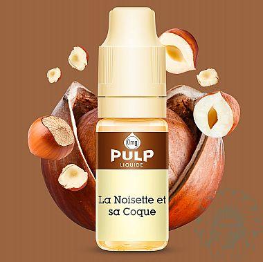 E-liquide Pulp Noisette et sa Coque