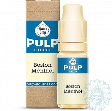 E-liquide Pulp Boston Menthol