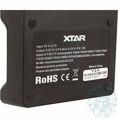 Chargeur accu Xtar VC4 Light
