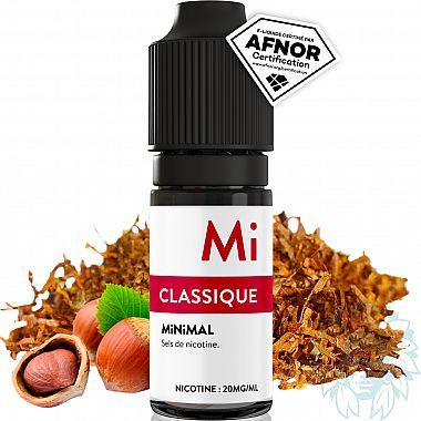 E-liquide Minimal Classique au sel de nicotine