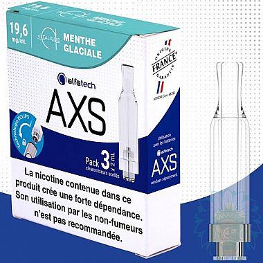 Clearomiseur Alfatech AXS Menthe Glaciale (Pack de 3)