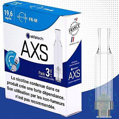 Clearomiseur Alfatech AXS FR-M (Pack de 3)
