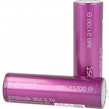 Accu Efest Purple IMR 21700 - 3700 mAh - 35 A