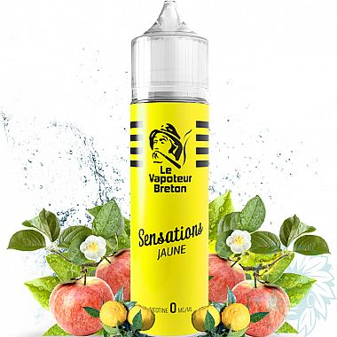 Mix and vape Le Vapoteur Breton Jaune (50 ml)
