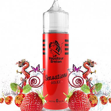 Mix and vape Le Vapoteur Breton Rouge (50 ml)