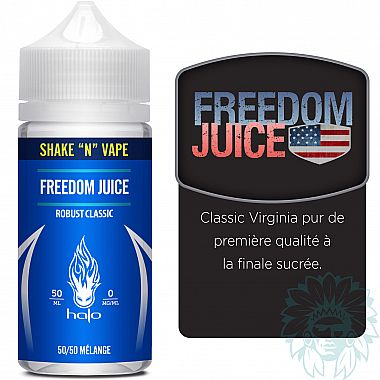 Mix and vape Halo Freedom Juice (50 ml)