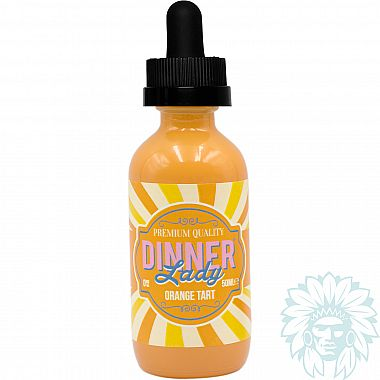 Mix and vape Dinner Lady Orange Tart (50 ml)