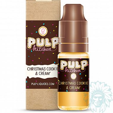 E-liquide Pulp Kitchen Christmas Cookie & Cream