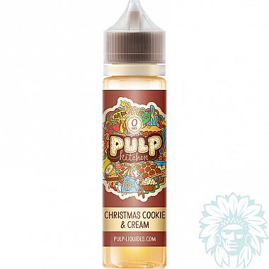 Mix and vape Pulp Kitchen Christmas Cookie & Cream (50 ml)