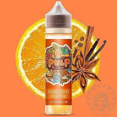 E-liquide Pulp Kitchen Orange Epicée 50ml