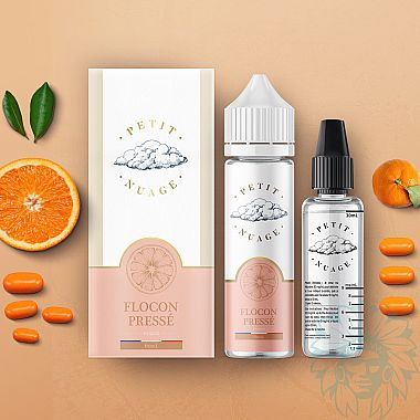 Mix and vape Petit Nuage Flocon Pressé (60 ml)