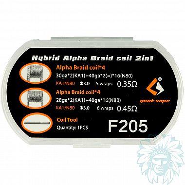 Résistances Geekvape N80 Alpha Braid 2 en 1
