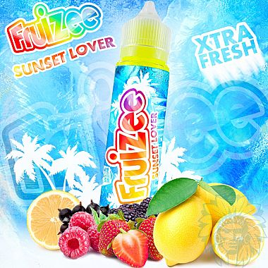 E-liquide Fruizee Sunset Lover, Pack 50 ml