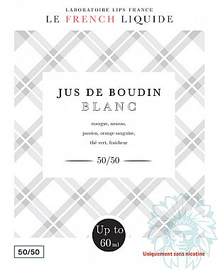 Mix and vape Le French Liquide Jus de Boudin Blanc (50 ml)