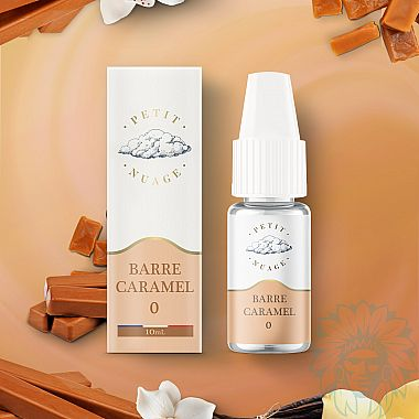 E-liquide Petit Nuage Barre Caramel