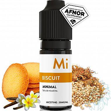 E-liquide Minimal Biscuit au sel de nicotine