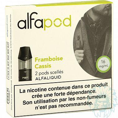 Cartouche Alfapod Framboise Cassis (Pack de 2)