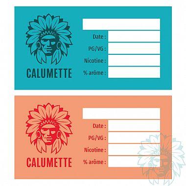 Etiquette DIY Calumette (pack de 10)