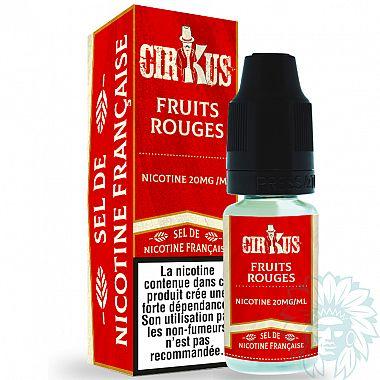E-liquide aux sels de nicotine Cirkus Fruits Rouges