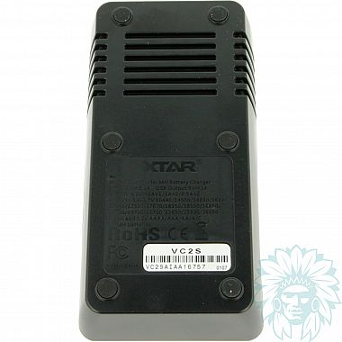 Chargeur accu Xtar VC2S