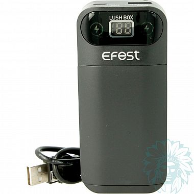 Chargeur accu Efest Lush Box