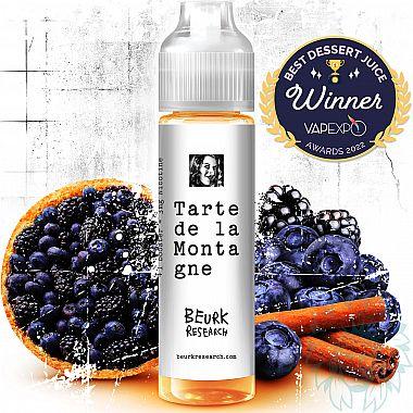 Mix and vape Beurk Research Tarte de la Montagne (40 ml)