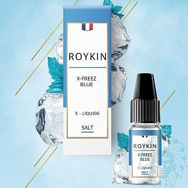 E-liquide aux sels de nicotine Roykin X Freez Blue