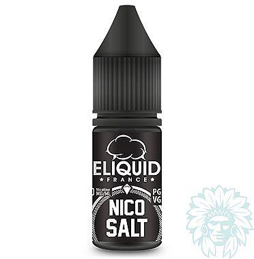 Pack de 10 booster aux sels de nicotine Eliquid France