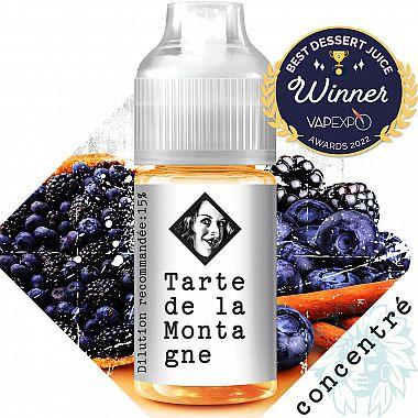 Arôme Tarte de la Montagne Beurk Research 30ml