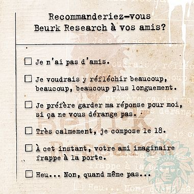 Arôme Classic Vaurien Beurk Research 30ml