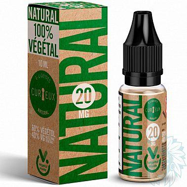 Booster de nicotine au Végétol Curieux Natural