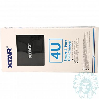 Chargeur Intelligent Xtar Light USB 4-U
