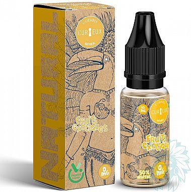 E-liquide Curieux Natural Fruits Exotiques