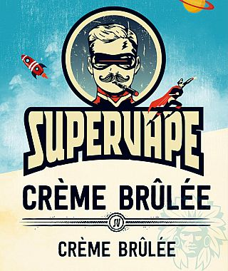 Arôme Crème brûlée Supervape