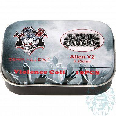 Alien V2 Coil Demon Killer