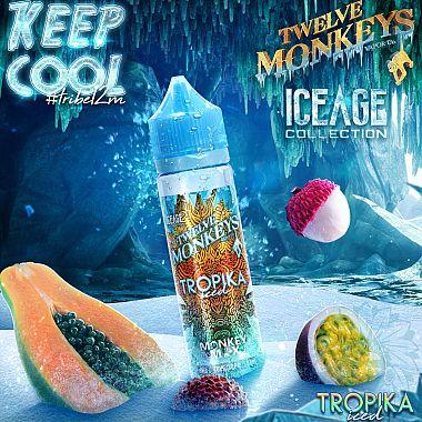 E-liquide Twelve Monkeys Tropika Iced 50ml