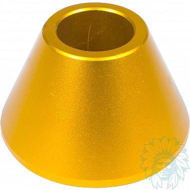 Porte cigarette métal cône