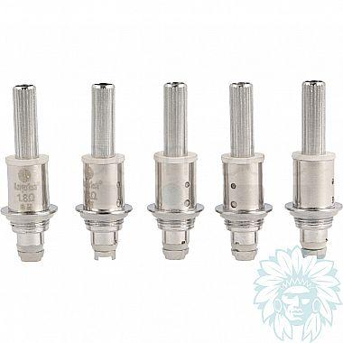 Résistance Kanger dual coil (BDC) pour Aérotank, Protank 3, mini protank 3, T3D, Evod 2 (pack de 5)