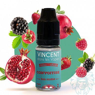 E-liquide Vincent dans les vapes (VDLV) Convoitise
