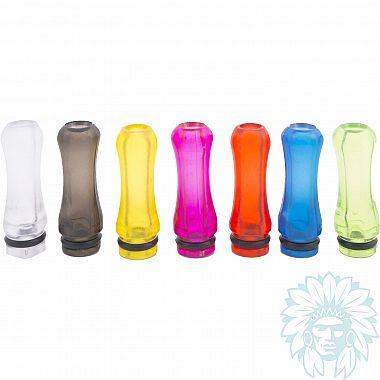 Drip tip 510 plastique rond