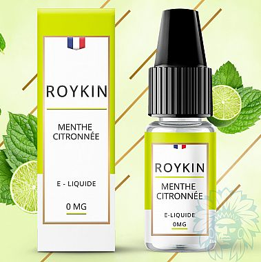E-liquide Roykin Menthe Citronnée