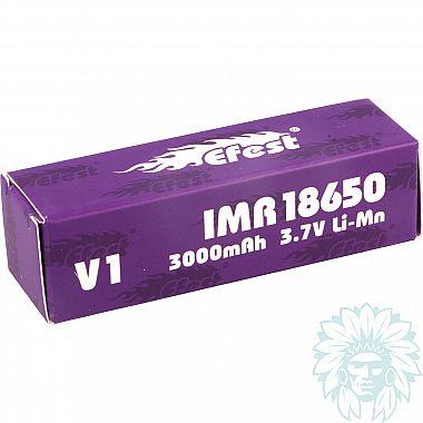 Accu Efest Purple IMR 18650 - 3000 mAh - 35 A