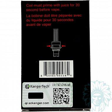 Résistances Kanger SOCC (Pack de 5)