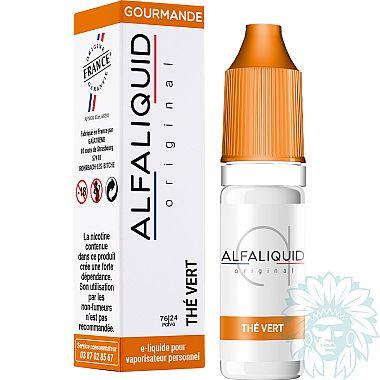 E-liquide Alfaliquid Thé Vert