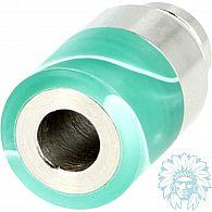 Drip tip 510 Inox Acrylique