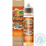Mix and vape Pulp Kitchen Orange Epicée (50 ml)