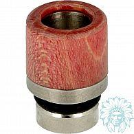 Drip tip 510 bois stabilisé-Inox