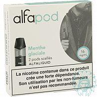 Cartouche Alfapod Menthe Glaciale (Pack de 2)