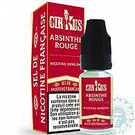 E-liquide aux sels de nicotine Cirkus Absinthe Rouge